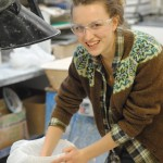 Design for Space W8 – Plaster Prototype Casting