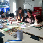 Teaching Bookbinding at MAKLab